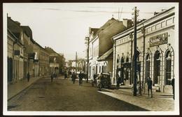 CSÍKSZEREDA 1940. Cca. Európa Étterem, Régi Képeslap - Hongrie