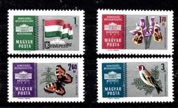 Serie De Hungría Nº Yvert 1440/43 **  MARIPOSAS (BUTTERFLIES) - Hungría