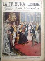 La Tribuna Illustrata 9 Dicembre 1900 Inondazione Roma Piena Del Tevere Regina - Livres, BD, Revues