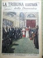 La Tribuna Illustrata 16 Dicembre 1900 Pellegrini Papa Piena Tevere Fiano Romano - Livres, BD, Revues