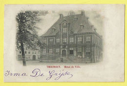 * Torhout - Thourout * (Wereldpostvereeniging) Hotel De Ville, Town Hall, Stadhuis, Old, Rare, Vieux, TOP 1901 - Torhout