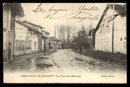 51 HEILTZ LE MAURUPT - La Rue Du Moulin - Autres Communes