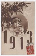 CPA BONNE ANNEE 1913 - Nouvel An
