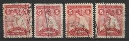MiNr. 2 Kolumbien, Zwangszuschlagsmarken 1937/1938. Rotes Kreuz. - Kolumbien