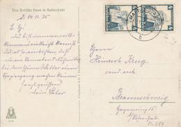HALBERSTADT / DR - 1935 , Nothilfe Volkstrachten  Oberschlesien - Costumes