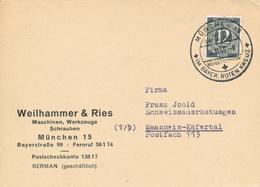 MÜNCHEN - 1946 , Werdet Mitglied Im BAYER. ROTEN KREUZ - Croix-Rouge