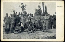 I. VH  1914. Bosznia, Bilek  , Magyar Katonák, Fotós Képeslap Kolozsvárra - Ungarn