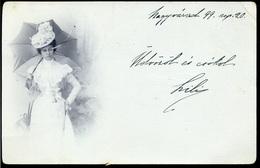 NAGYVÁRAD 1899. Fotós Képeslap - Hongrie