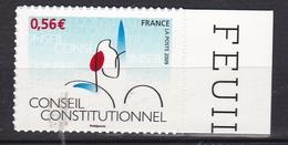 Autoadhésif N° 337** Conseil Constitutionnel - France