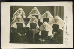 1913. Apácák, Régi Fotós, Képeslap - Other