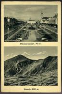 MÁRAMAROSSZIGET 1940. Régi Képeslap , Kétnyelvű Bélyegzéssel - Hungría