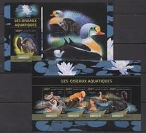 TT317 2016 DJIBOUTI FAUNA LES OISEAUX AQUATIQUES WATER AQUA SEA BIRDS KB+BL MNH - Birds
