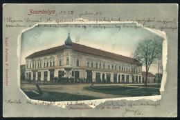 ZSOMBOLYA 1902.  Régi Képeslap - Hungary