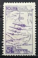 1938 BOLIVIA Transport Planes Over Map Of Bolivia - Bolivia