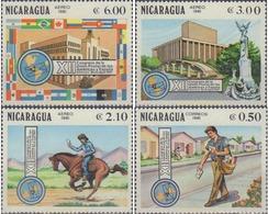 Ref. 347899 * MNH * - NICARAGUA. 1981. XII CONGRESO DE LA UNION POSTAL DE LAS AMERICAS Y ESPAÑA - Nicaragua