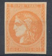 N°48 BORDEAUX NEUF** VARIETE BEPUB  AU LIEU DE REPUB - 1870 Bordeaux Printing