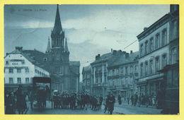* Dison (Liège - Luik - La Wallonie) * (SBP, Nr 8) La Place, Très Animée, Enfants, TOP, Unique, Tram, Vicinal, Cheval - Dison