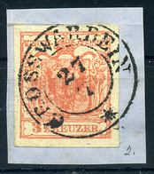 NAGYVÁRAD 1850. 3kr Szép Bélyegzés - Gebraucht