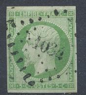 N°12 NUANCE ET OBLITERATION. - 1870 Bordeaux Printing