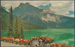 Emerald Lake And Mount Michael, British Columbia, C.1960 - The Coast Publishing Co Postcard - Other