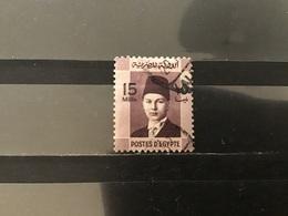 Egypte / Egypt - Koning Farouk (15) 1937 - Egypte