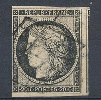 N°3 GRISNOIR. - 1849-1850 Ceres