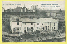 * Bouillon (Luxembourg - La Wallonie) * (Edit Stroobant) Chateau, Anciennes Maisons De Pecheurs, Quai, Canal, TOP - Bouillon