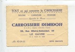 Le Havre - Carrosserie Demidoff  Rue Hilaire Colombel - Tôlerie Garniture Peinture Automobile - Le Havre