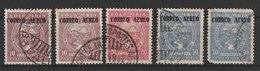 MiNr. 306, 308, 309 Kolumbien  1932, 12. Jan. Ausgabe Der SCADTA Für Kolumbien MiNr. 47-59 Mit Aufdruck CORREO AEREO. - Kolumbien
