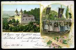 MÁRIARADNA 1901. Régi Litho Képeslap - Hungary