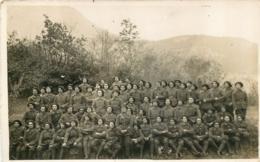 CARTE PHOTO CHASSEURS ALPINS - Regiments
