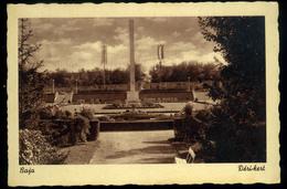 BAJA 1943. Régi Képeslap, Orszáágzászló - Hungary