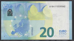 "EURO 20  ITALIA SF S019  ""41""  DRAGHI  UNC - EURO"