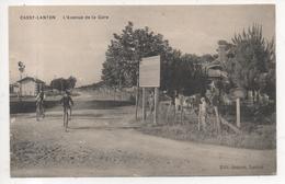 33.1123/ CASSY LANTON - L'avenue De La Gare - France
