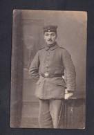 Carte Photo Hermestroff Metz  Portrait Militaire De Son Frère à  Felix Archen Marange Silvange Moselle 57 - Otros Municipios