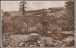 Malmesmead Bridge, Devon And Somerset, C.1920s - RP Postcard - England