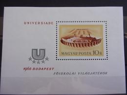 HUNGRIE, UNGARN MI-NR BLOC 50 NEUF MNH POSTFRISCH - Blocks & Sheetlets