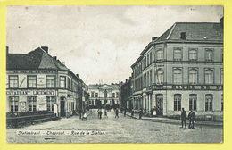 * Torhout - Thourout * (Edit Th. Samyn - De Borchgrave) Rue De La Station, Hotel, Au Duc De Brabant, Animée, Restaurant - Torhout
