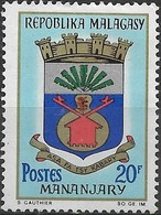 MADAGASCAR 1963 Town Arms - 20f - Manajary MNG - Madagascar (1960-...)