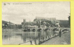 * Huy - Hoei (Liège - La Wallonie) * (Nels, Série 26, Nr 21) Vue Générale Prise Du Quai De La Batte, Pont, Chateau Canal - Huy