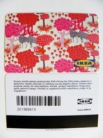 Plastic Magnetic Card Carte IKEA Gift Present Card, Animal The Elves Deer Elk - Other Collections
