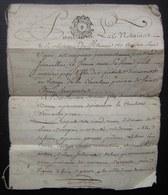 Généralité De Poitiers, Villeneuve La Comtesse 1778 Ferme Par René Viaud Jeanne Renou Berthomée Bareau à Jean Chevalier - Manoscritti