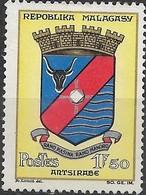 MADAGASCAR 1963 Town Arms - 1f.50 - Antsirabe MNG - Madagascar (1960-...)