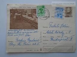 D162525 Postal Stationery  - Romania  - Ziua Uniunii Postale Universale  1972 - Entiers Postaux
