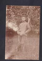 Carte Photo Portrait Militaire Armee Allemande  Felix Archen Marange Silvange Moselle 57 - Otros Municipios