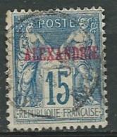 Alexandrie   Yvert N° 9 Oblitéré - Ad 30825 - Alessandria (1899-1931)