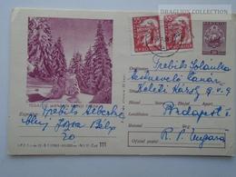 D162526 Postal Stationery  - Romania  - Peisaj De Iarna Din Muntii Paring 1965 - Entiers Postaux