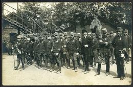 SZABADKA 1909, Katona Zenekar Régi Fotó, Képeslap         ##  /  SZABADKA 1909 Military Band Vintage Postcard Photo - Altri