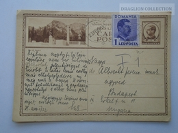 D162528 Postal Stationery  - Romania  - Busteni - 1939 - Entiers Postaux