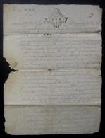 Paroisse D'Aumagne, Village De Chaignon 1741 Jean Berthelot Jean Rapet Tonnelier Et Pierre Sicard Dit Le Foin Laboureur - Manuscripts
